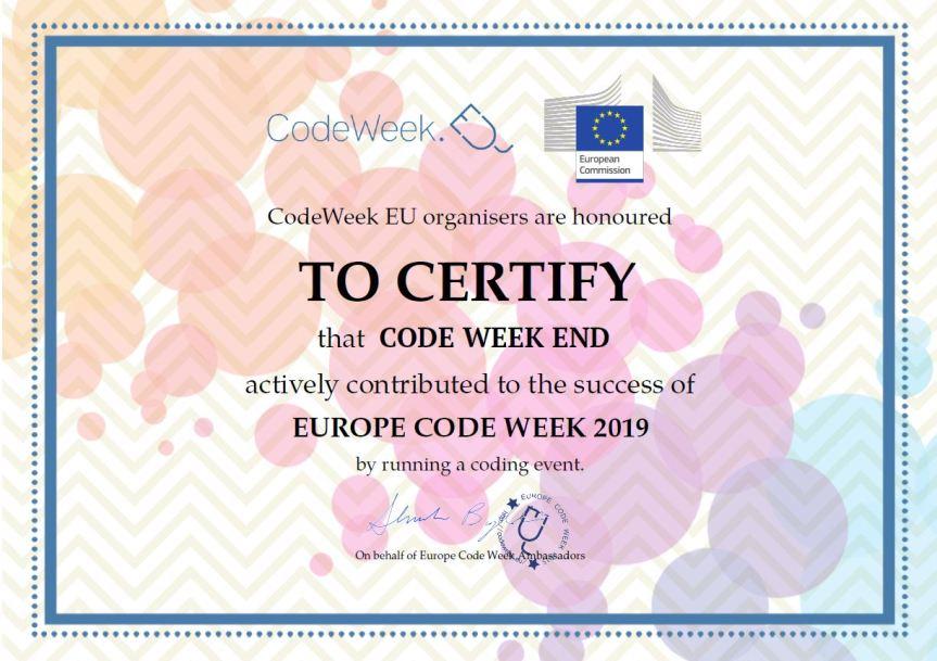 CODE WEEK 19